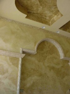 Faux Finish, Glaze Palm Beach Island